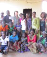 Bezoek Burkina Faso groepsfoto