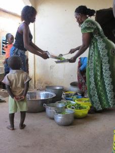 Bezoek Burkina Faso koken